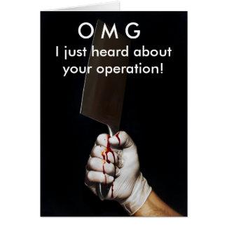 Obtenez la carte d'opération bonne