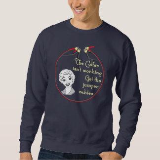 Obtenez la chemise de câbles de pullover