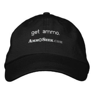 Obtenez le casquette de logo d'AmmoSeek de