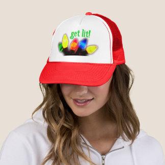 Obtenez le casquette de vacances de Lit