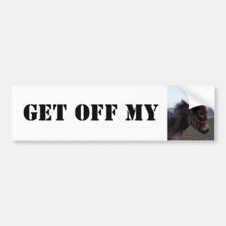 Obtenez outre de mon âne ! Adhésif pour pare-chocs Autocollant Pour Voiture
