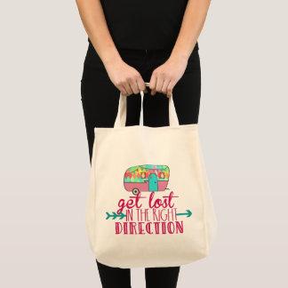 Obtenez perdu dans les sacs fourre-tout à bonne