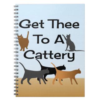 Obtenez Thee à un carnet de pension pour chats