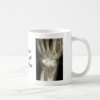 Obtenez vos mains outre de mon café mug