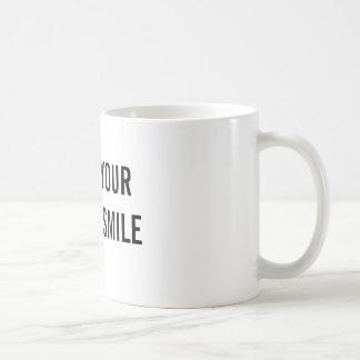 Obtenez votre tasse et sourire