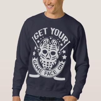 Obtenez votre visage de jeu sur le sweatshirt