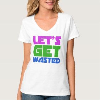 Obtenons gaspillés t-shirts