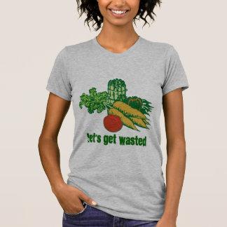 Obtenons gaspillés t-shirt