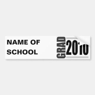 Obtention du diplôme 2010 adhésif pour voiture