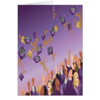 Obtention du diplôme Carte-Pourpre Carte De Vœux