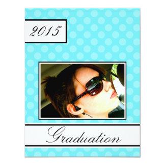 Obtention du diplôme de partie de Chambre ouverte Carton D'invitation 10,79 Cm X 13,97 Cm