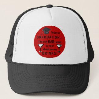 Obtention du diplôme d'école de droit - barre pour casquette