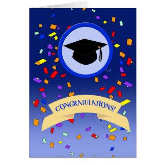 Obtention du diplôme : Félicitations Cartes