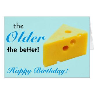 Obtention d'une carte d'anniversaire plus ancienne