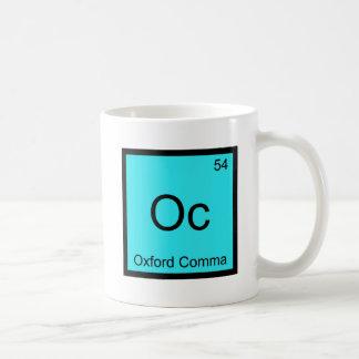 OC - grammaire de symbole d'élément de chimie de Mug Blanc