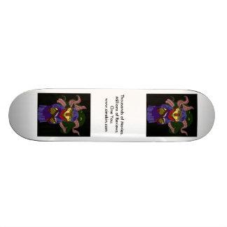 occultkin sur un conseil skateboard