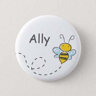 Occupé gaffez l'abeille pin's