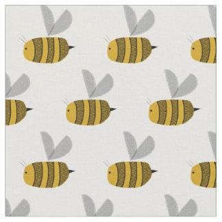 Occupé gaffez les abeilles tissu