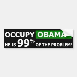 Occupez l'adhésif pour pare-chocs de rue d'Obama Adhésif Pour Voiture