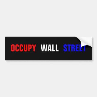 Occupez l'adhésif pour pare-chocs de Wall Street Autocollants Pour Voiture