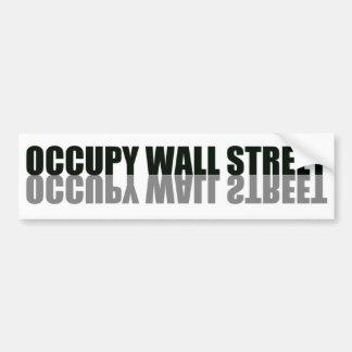 Occupez le logo à la mode de Wall Street Autocollants Pour Voiture