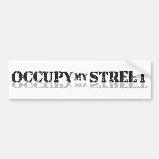 Occupez ma rue pas Wall Street Autocollants Pour Voiture