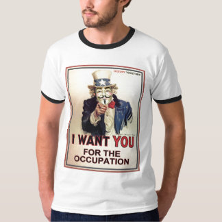 Occupez partout la pièce en t des hommes t-shirts