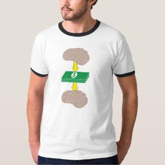 Occupez-vous sur mon argent et mon argent sur mon t-shirt