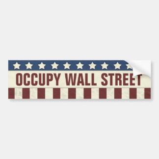 Occupez Wall Street Autocollants Pour Voiture