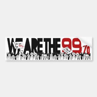 Occupez Wall Street - nous sommes les 99% Adhésif Pour Voiture