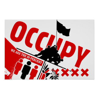 Occupez Wall Street : Nous sommes les 99% Poster