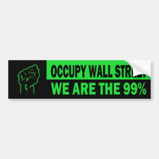 Occupez Wall Street, nous sont le 99% Autocollant Pour Voiture