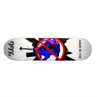 Occupez Wall Street Skateboards Personnalisés