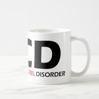 OCD - Désordre obsédant de Cockatiel Mug