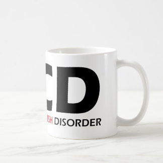OCD - Désordre obsédant de poisson-chat Mug
