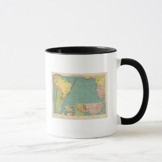 Océan Atlantique sud Mug