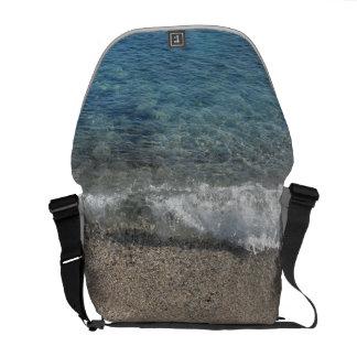 Ocean blue sacoche