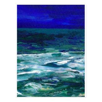 Océan dans les cadeaux de paysage marin d'art cartes postales