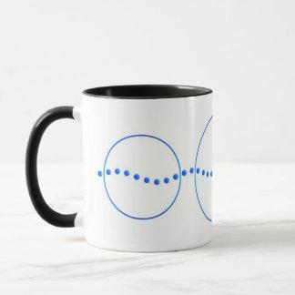 Océane - Mug - Bleu