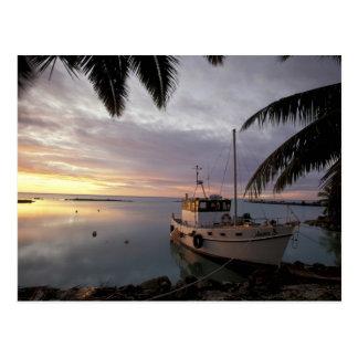 Océanie, Polynésie, îles Cook, Aitutaki, Carte Postale