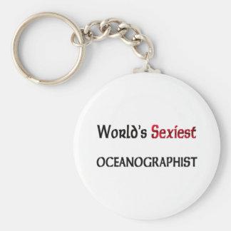 Oceanographist le plus sexy du monde porte-clés