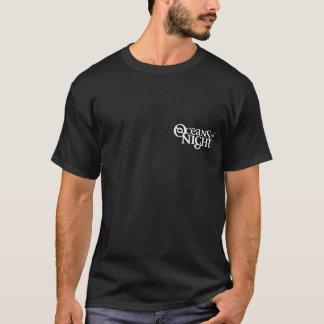 Océans de nuit sur le noir 1. t-shirt