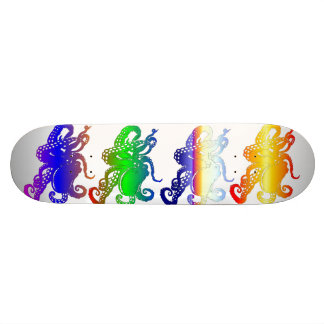 octopui de quadruple planches à roulettes customisées