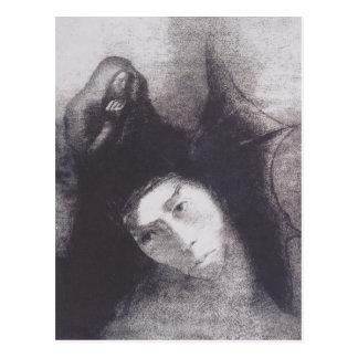 Odilon Redon- Anthony : Le diable Cartes Postales