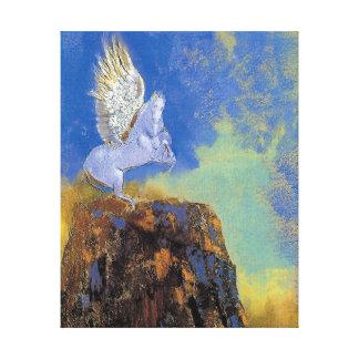 Odilon Redon Pegasus - symbolisme de mythologie Toiles