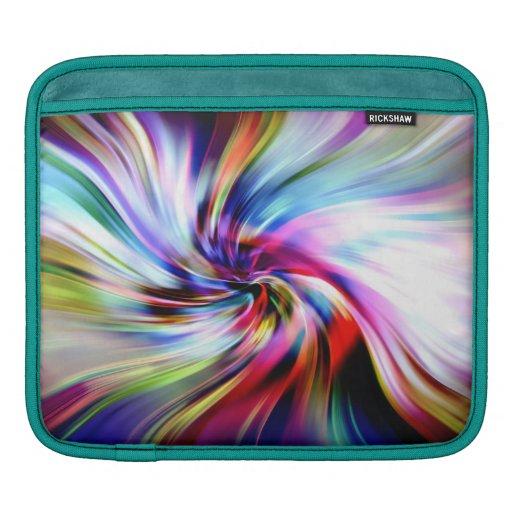 Oeil de l'arc-en-ciel housses iPad