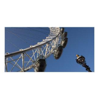 Oeil de Londres et réverbère Cartes Avec Photo