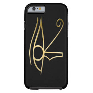 Oeil de symbole d'Egyptien de Horus Coque Tough iPhone 6