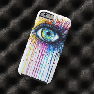 Oeil d'éclaboussure coque tough iPhone 6