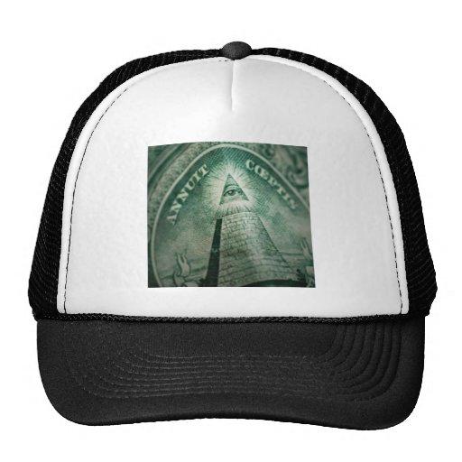 Oeil d'Illuminati Casquettes De Camionneur
